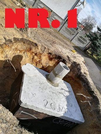Betonowy Zbiornik na gnojowice Szambo betonowe na ścieki-6000l