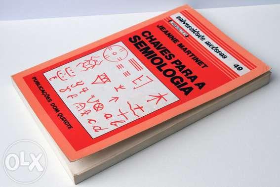 Vendo livro chaves para a semiologia - autor jeanne martinet
