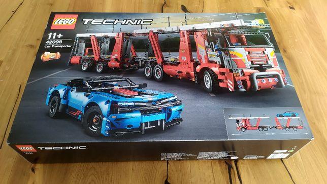 LEGO Technic Laweta 42098 transporter - nowe, plomby producenta