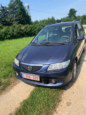 Mazda Premacy 2002 r.prod, 2.0 diesel, klima,centralny zamek,hak