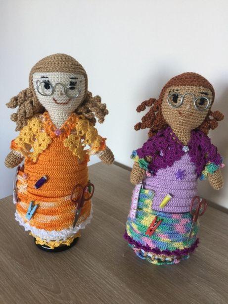 Bonecas em Croché para costura