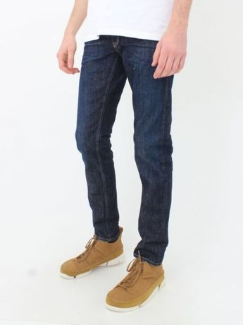 Replay Blue Jeans Denim premium stretch selvedge roz. 36/34 indigo