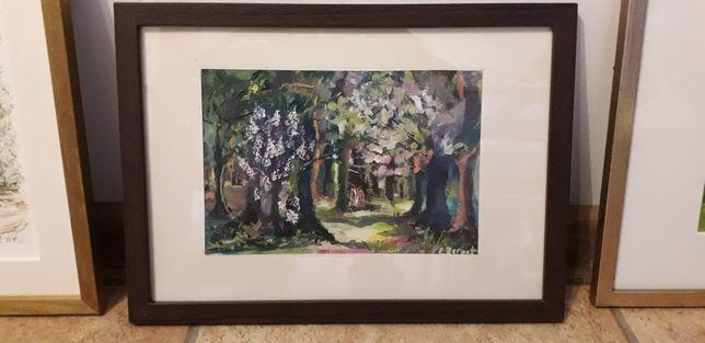 """,,Aleja drzew""""- obraz."""