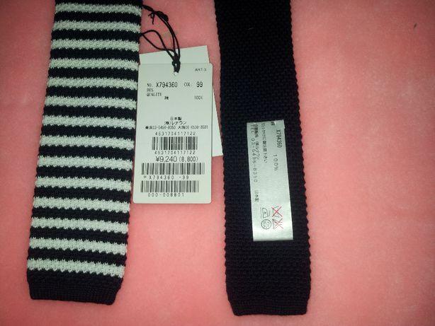 Вязаный стильный галстук бренда AAR Япония ОРИГИНАЛ Суперподарок