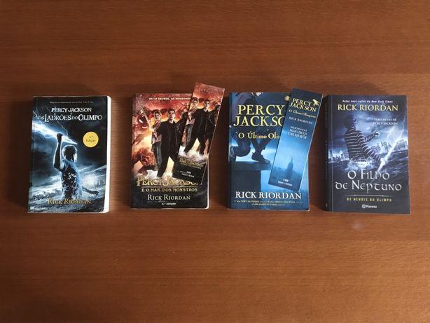 Pack de livros de Rick Riordan