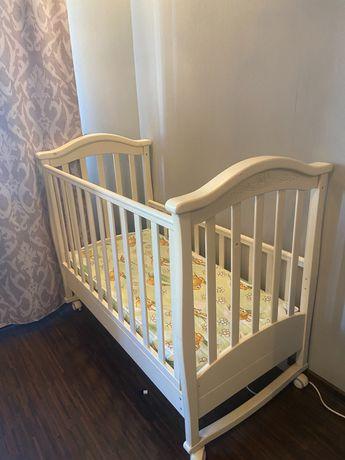 Детская кроватка Верес + матрас