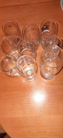 Pokale / szklanki 9sztuk bdb. Stan