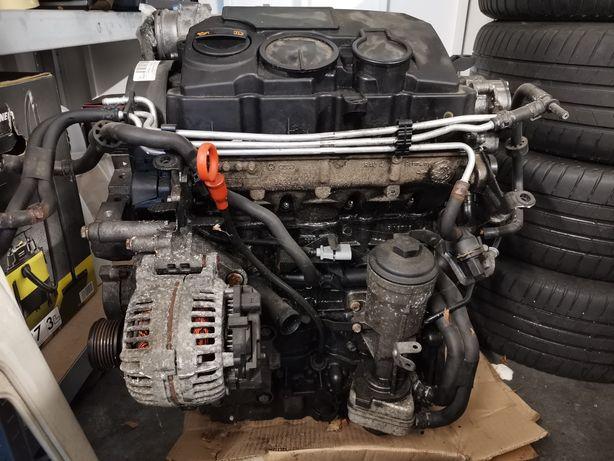 Silnik VW AUDI 1.9 TDI BLS 200 tys. km. uszkodzony