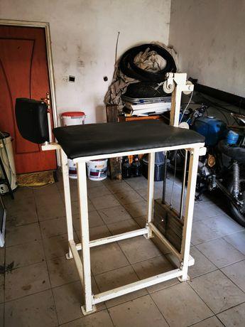 Armwrestling, maszyna do treningów, przedramiona, biceps, ze stosem