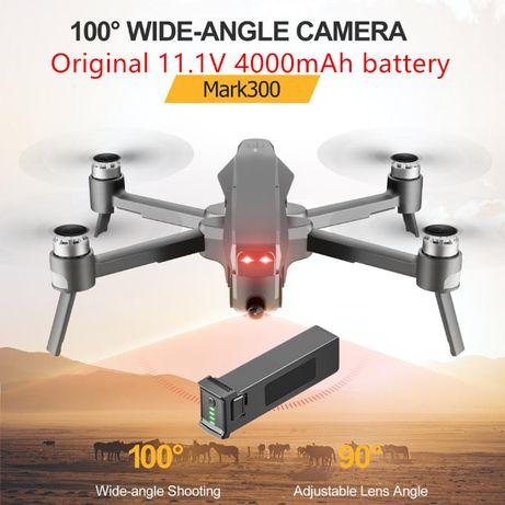 Дрон Mark 300 4DRC M1 GPS 5G WIFI 4К камера 4000mah аккумулятор
