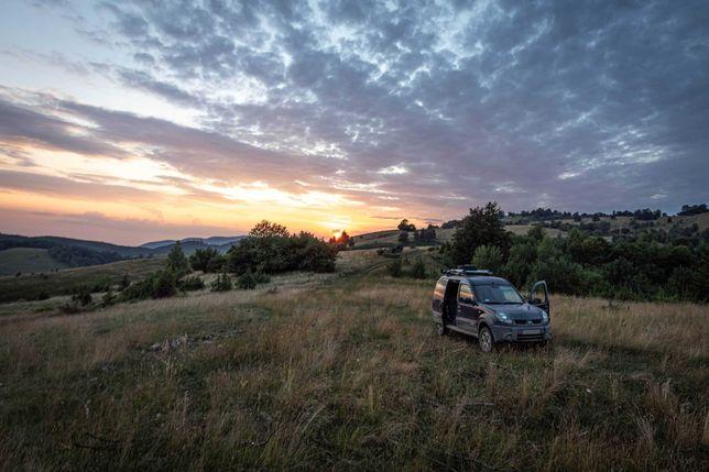 Mini Camper 4x4 Renault Kangoo ( napęd nissan x-trail)