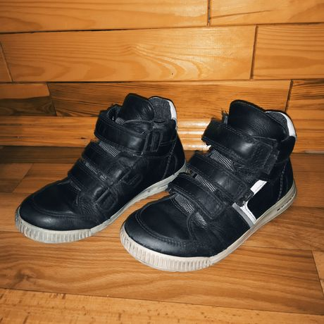 Кожаные ботиночки Ecco Gore Tex