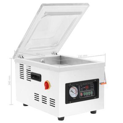 Máquina de embalar a vácuo profissional 400w aço inoxidável