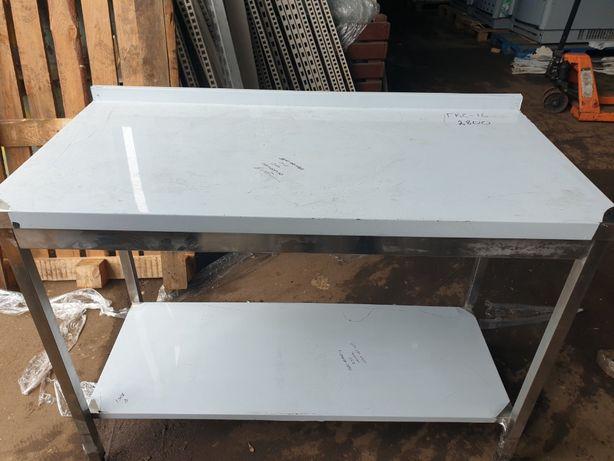 Стол с нержавейки 1,2 м. с полкой. Столы производственные.Нержавейка