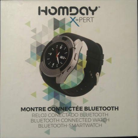 Relógio conexão bluetooth