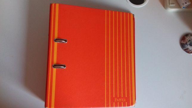 Dossier A4 Papfer Vermelho e Laranja