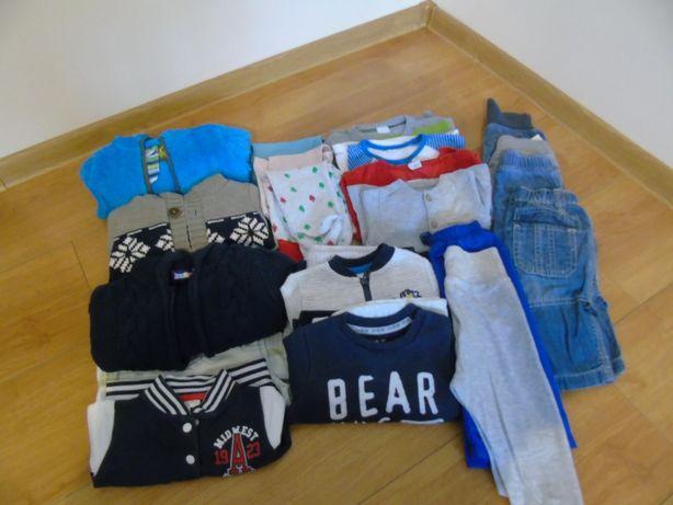 Ubrania dla dziecka rozmiar 74-80