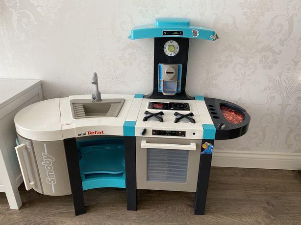 Кухня детская smoby tefal