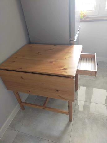 Ikea INGATORP stół rozkładany opuszczany blat z szufladą