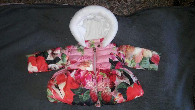 Теплая курточка на манюню