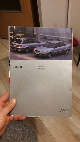 Prospekt Audi 80