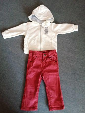 Bluza, spodnie 74 cm