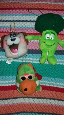 игрушки подвесные мягкие