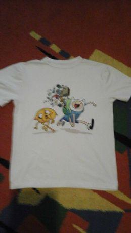 Футболка фін і джейк время приключений Adventure Time