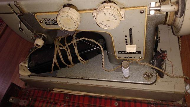 Швейная машинка Чайка-3 КЛ 116-2 в чемодане