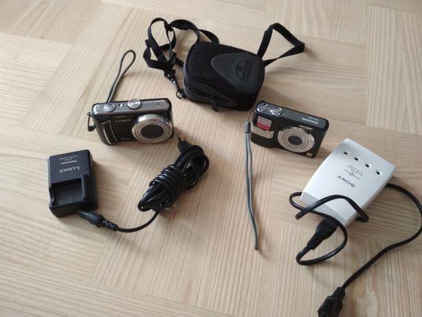 Aparat cyfrowy Panasonic DMC-TZ5 + DMC-LS80