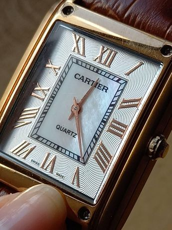 часы картье двусторонние уникальные проиводство эмираты рабочие
