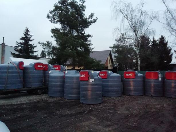 zbiornik na paliwo ropę 2500 litrów cała Polska GRATIS do negocjacji