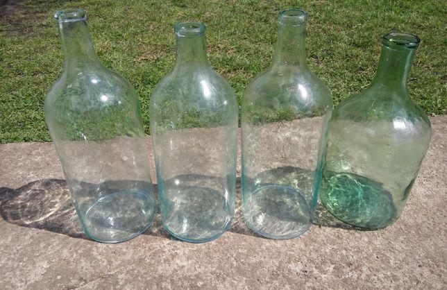Стеклянные бутли 4 литра