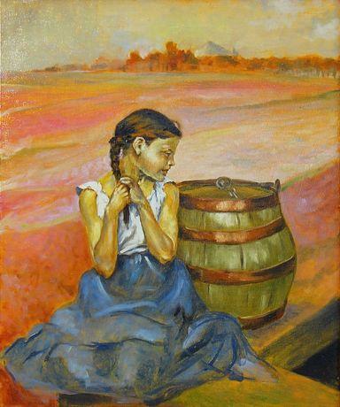 Ręcznie Malowany Obraz Olejny (Jacek Malczewski)