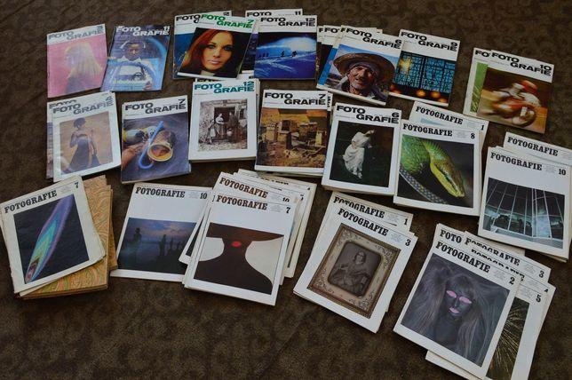 Підбірка журналів FOTOGRAFIE (DDR) 1968-1990 років