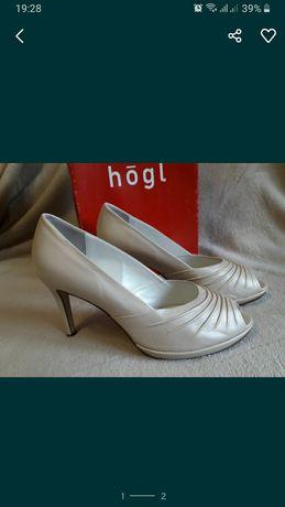 Туфли женские кожаные свадебные