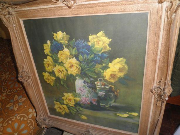 """""""M. Rettig"""", pintor americano viveu de 1869 a 1956, bom investimento"""