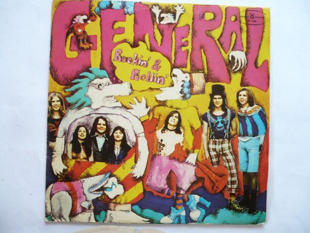 """General """"Rockin & Rollin"""", płyta winylowa, Muza 1975"""