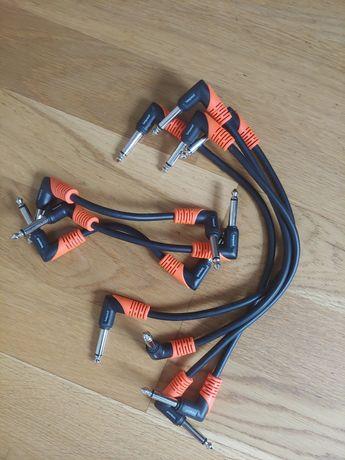 Bespeco! Kable do łączenia efektów! Patch cables!