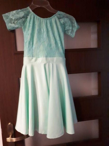 Sukienka Pierwszy Krok 134 taneczna,3 do tańca