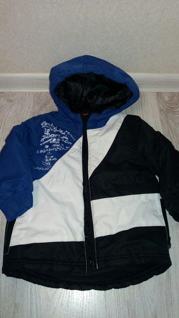 Непромокаемая деми курточка 98 см