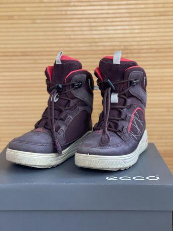Термоботинки / ботинки/ сапоги ECCO размер 28 ( но рекомендую на 27)
