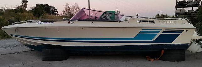 Łódz motorowa Abbate