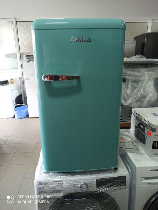 Новый ретро холодильник Amica Ksr361 000T из Германии Черновцы - изображение 1