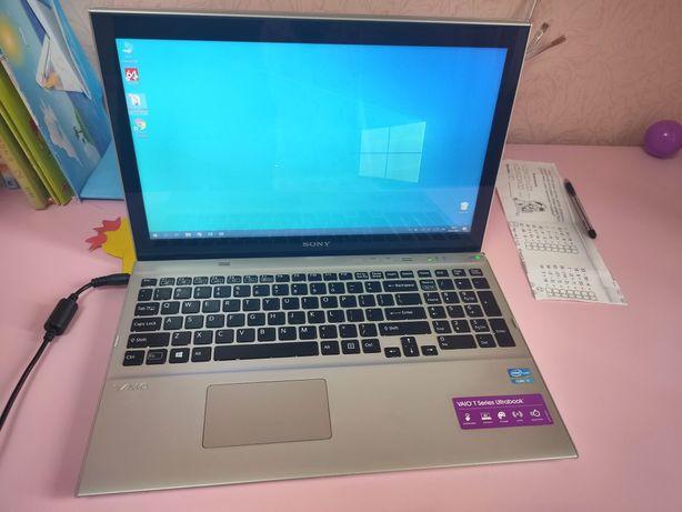 Ноутбук Sony Vaio,FullHD,i7-3537u,SSD-32Gb,HDD-1000Gb,8Gb