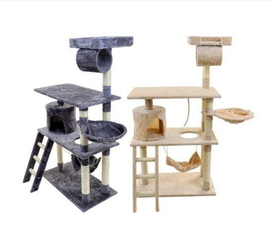 drapak dla kota z hamakiem domek wieża legowisko