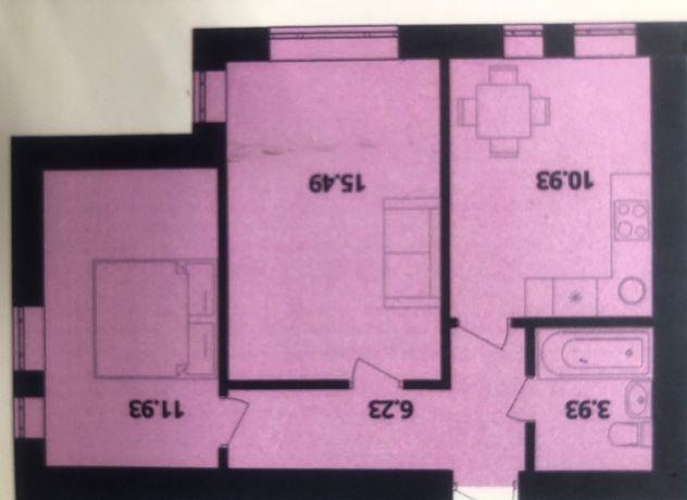 Продам 2-х комнатную квартиру ЖК Европейка