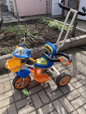 Детский велосипед для мальчиков бу