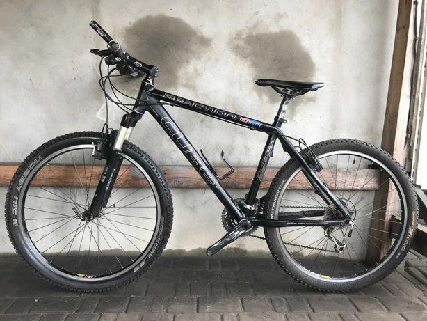 Велосипед CUBE Гидравлика на DEORE XT Rock Shox Воздух