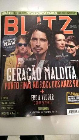 Blitz - Capa Chris Cornell e Kurt Cobain (Portes incluídos)